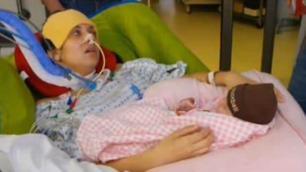 L'amore di Holly Gerlach, mamma coraggio che ha sconfitto la paralisi per vedere crescere sua figlia