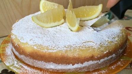 Torta ricotta e limone: soffice e con un sapore unico