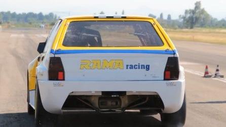 Il rombo fantastico della Lancia Delta EVO Turbo RR1