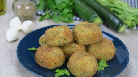Polpette di zucchine e ricotta fritte: come ottenerle cremose in pochi passi!