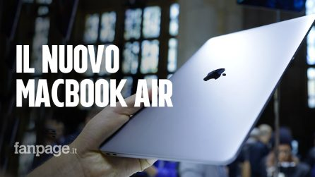 Abbiamo provato il nuovo MacBook Air (che sembra un Pro)