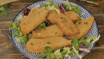 Breaded squash cutlet: you've never tried anything like it before!