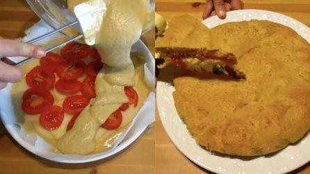 Torta rustica ripiena: la ricetta saporita che accontenterà tutti i palati