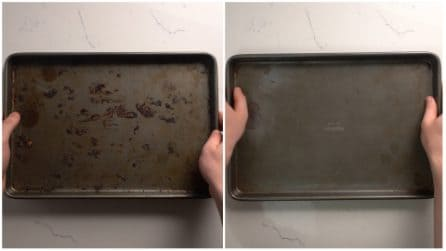 Come pulire facilmente una teglia da forno