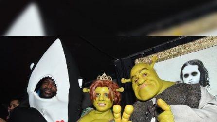 Heidi Klum si trasforma nella principessa Fiona per Halloween