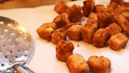 Cubetti impanati di melanzana: lo snack semplice che amerete