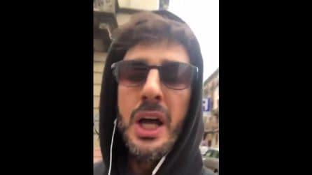 """""""Non ho paura di nessuno, io me ne fott*"""", lo sfogo di Fabrizio Corona dopo il post su Totti"""