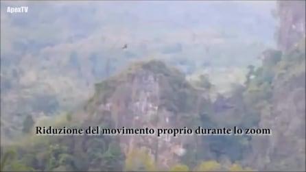 Drago avvistato in Cina: volo mono-ala in CGI