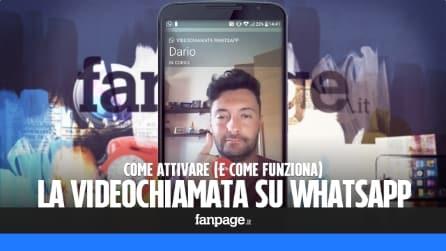 Come attivare le video chiamate in WhatsApp