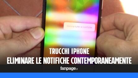 Trucchi iPhone: eliminare tutte le notifiche contemporaneamente