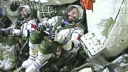 Cina alla conquista dello Spazio: 2 astronauti in orbita per test di medicina, biologia e fisica