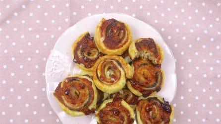 Girelle salate: l'idea perfetta per una cena veloce