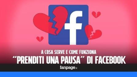 """""""Prenditi una pausa"""": la funzione di Facebook che ti aiuta a dimenticare ex e amici"""