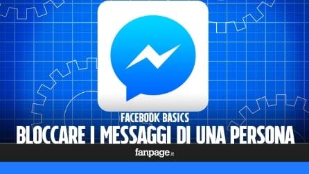 Come bloccare i messaggi di una persona su Facebook