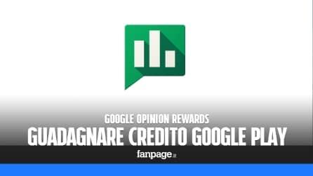 Guadagnare credito Google Play per scaricare app e giochi gratis
