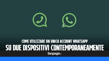 Utilizzare WhatsApp su due dispositivi contermporaneamente