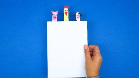 Un originale segnalibro: l'idea semplice e divertente