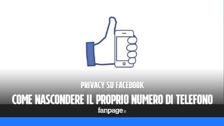 Nascondere il numero di telefono su Facebook