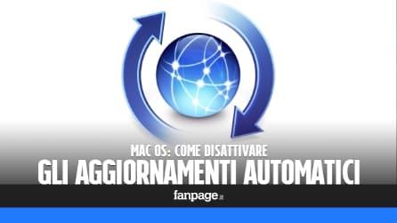 Disattivare gli aggiornamenti automatici di Mac OS
