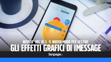 Novità iOS 10.1: attivare e disattivare la riproduzione automatica degli effetti iMessage
