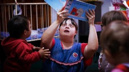 Si chiama Noelia ed è la 1^maestra con la Sindrome di Down del suo paese
