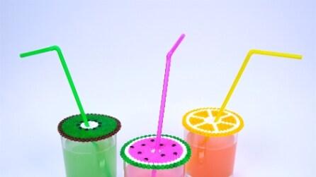 Perline da stirare: ecco come realizzare un originale copri bicchiere