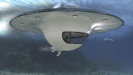 Come vivere in acqua a bordo di un U.F.O.