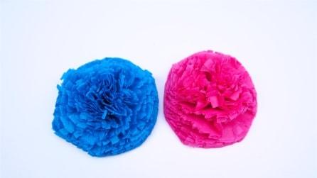 Come realizzare un fiore con un tovagliolo in pochi secondi