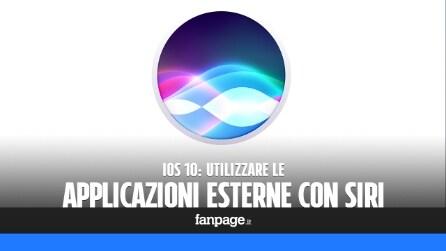Come utilizzare Siri con app esterne in iOS 10