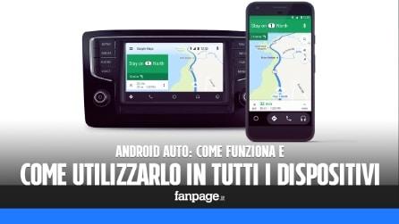 Android Auto compatibile con tutti i dispositivi: ecco come funziona e come scaricare l'app gratis di Google