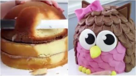 Come realizzare una torta a forma di gufetto: un'idea che farà impazzire i bambini