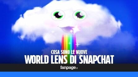 World Lens di Snapchat: cosa sono e come funzionano