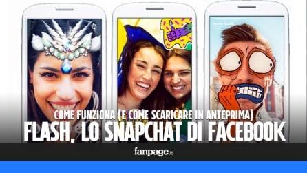 Flash, come funziona (e come provare in anteprima) lo Snapchat di Facebook