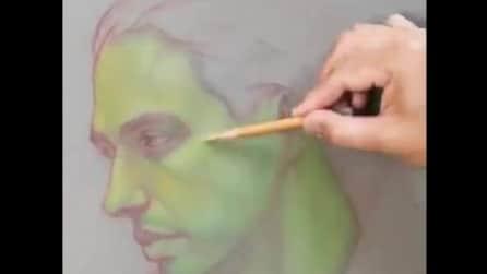 Colora il viso in questo modo: l'effetto finale vi lascerà a bocca aperta