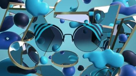 Hypnoshine: i nuovi occhiali da sole Fendi