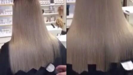 Comincia tagliando i capelli in questo modo: l'insolita tecnica vi stupirà