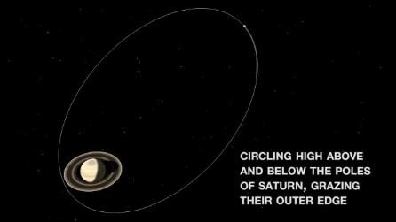 """Il """"tuffo"""" della sonda Cassini tra gli anelli di Saturno: ecco a cosa serve"""
