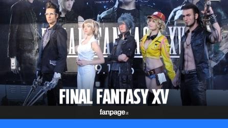 Final Fantasy XV: a Milano l'evento in cosplay per festeggiare l'uscita del gioco