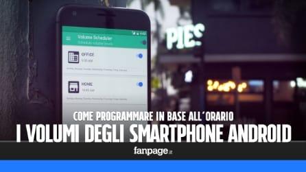 Come programmare il volume di uno smartphone Android in base all'orario