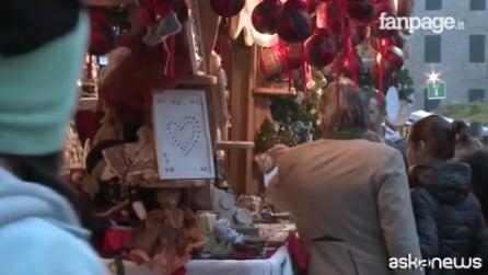 """Trento, arriva la magia del Natale: al via i mercatini tra più suggestivi e """"green"""" d'Italia"""