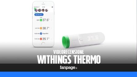 Video recensione Withings Thermo, il termometro da smartphone
