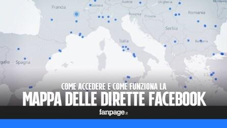 Diretta su Facebook, come accedere alla mappa degli streaming degli sconosciuti