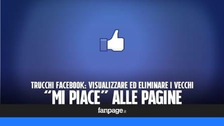"""Come vedere (ed eliminare) i """"mi piace"""" alle pagine Facebook"""