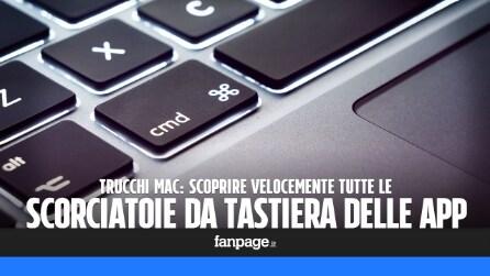 Come conoscere (velocemente) tutte le scorciatoie da tastiera delle app per Mac