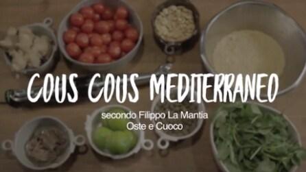 Cous Cous Pomodorini e Capperi in 4 Semplici Mosse