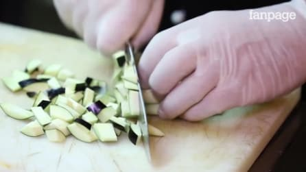 Eggplant Parmigiana flan recipe