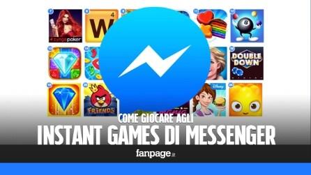 Come giocare agli Instant Games, i giochi di Facebook Messenger