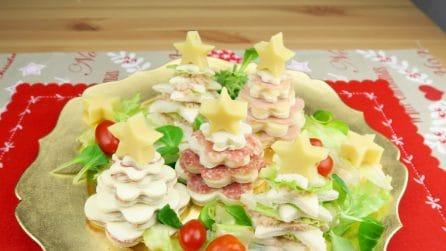 Alberelli di Natale: l'antipasto giusto per sorprendere tutti!