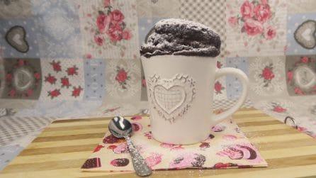 Torta in tazza: si prepara in soli 5 minuti!