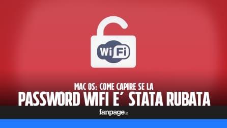 Mac OS: come capire se la password WiFi è stata rubata